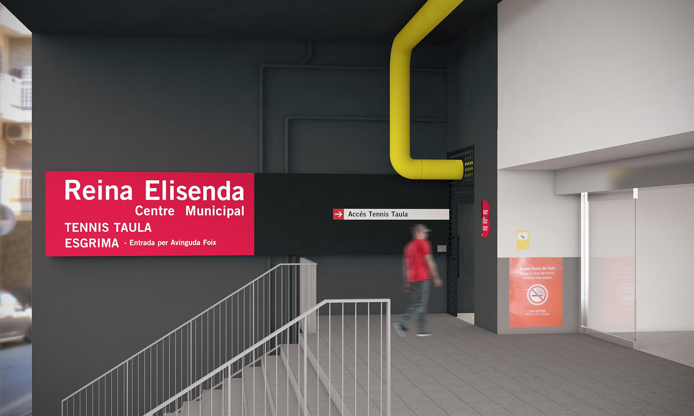 Centro Tenis Mesa y Esgrima - Barcelona